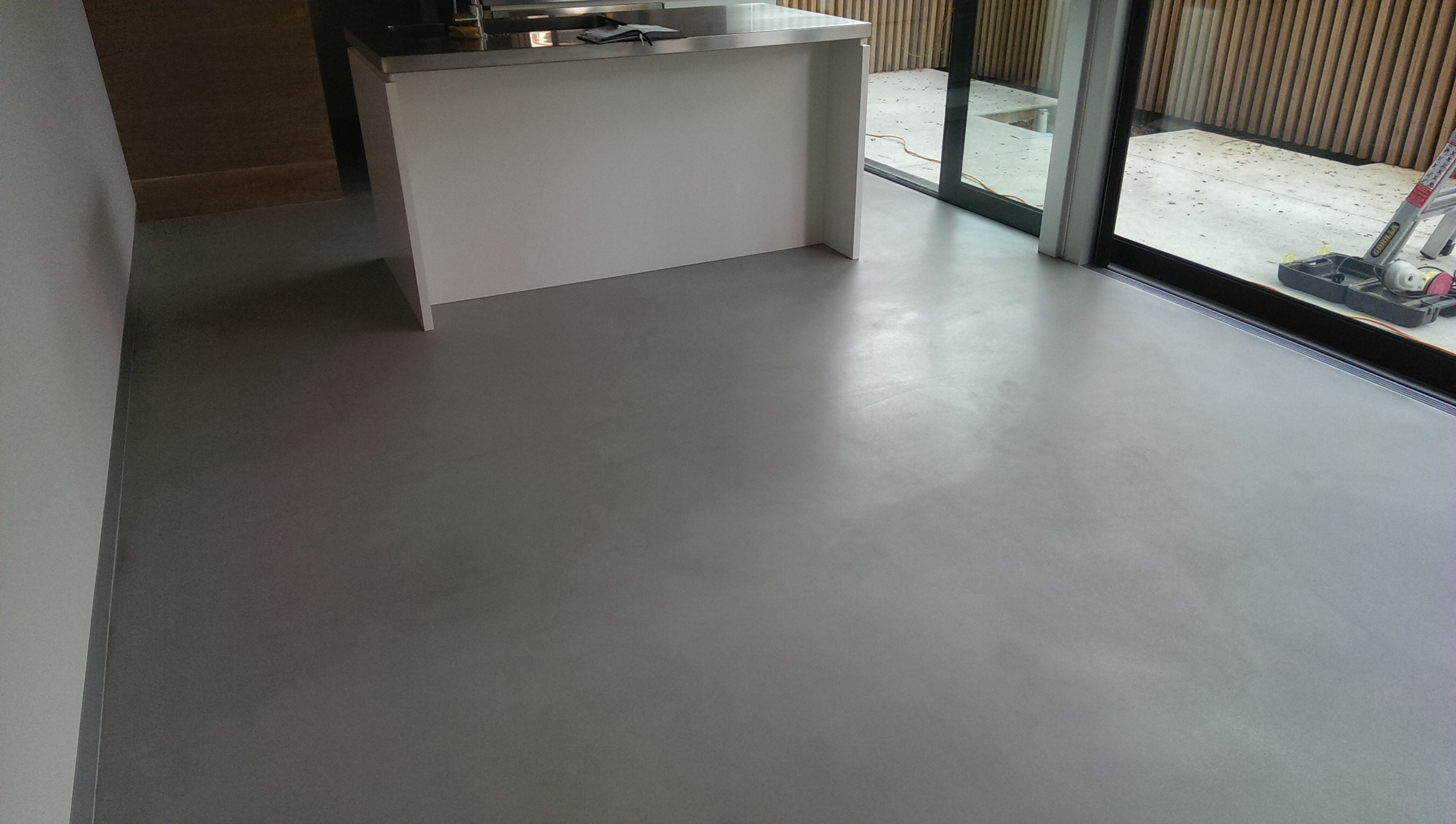 Ecoflor Polished Concrete Floor Repair Treatment Only 2mm