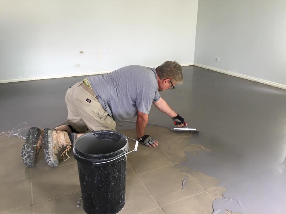 Ecoflor Polished Concrete Floor Repair Treatment Only 2mm