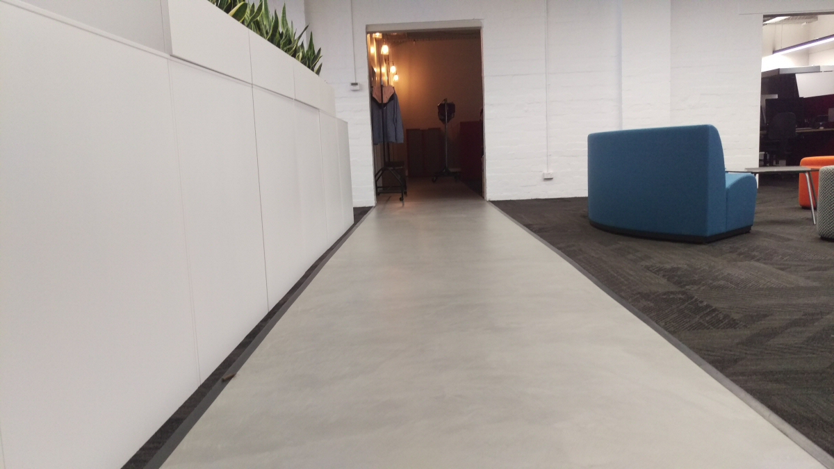 commercial concrete floor finishes